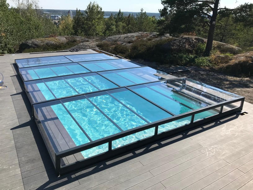 bazénové zastrešenie