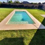 murovaný bazén 6x3x1,2m Biely Kostol