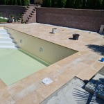 murovaný bazén 7x3x1,5m Báb