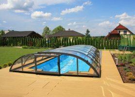 Posuvné prekrytie bazéna